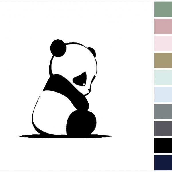 Canvas Baby Panda