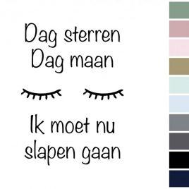Canvas 'Dag Sterren, Dag Maan...'