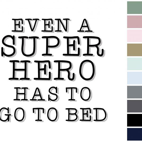 Canvas Super hero