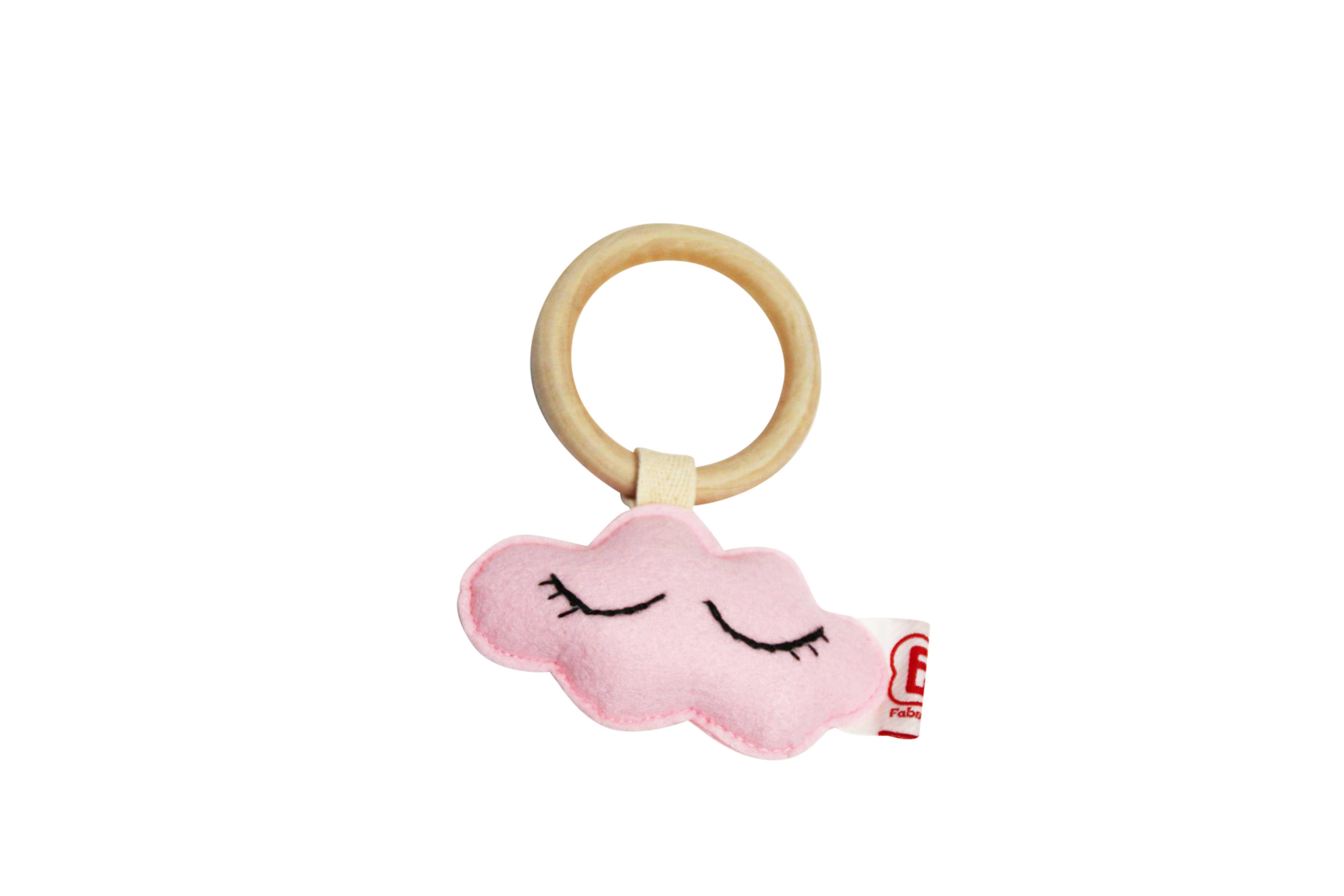 Teething ring cloud