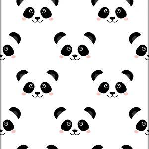 Ansichtkaart Little Pandafaces