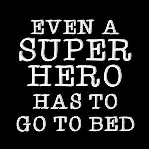 Ansichtkaart 'Superhero'
