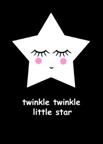 Ansichtkaart 'Twinkle twinkle..'