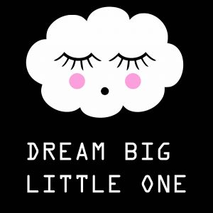 Postcard 'Dream Big Little One'