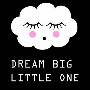Ansichtkaart 'Dream Big Little One'