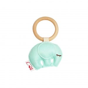 Teething ring elephant