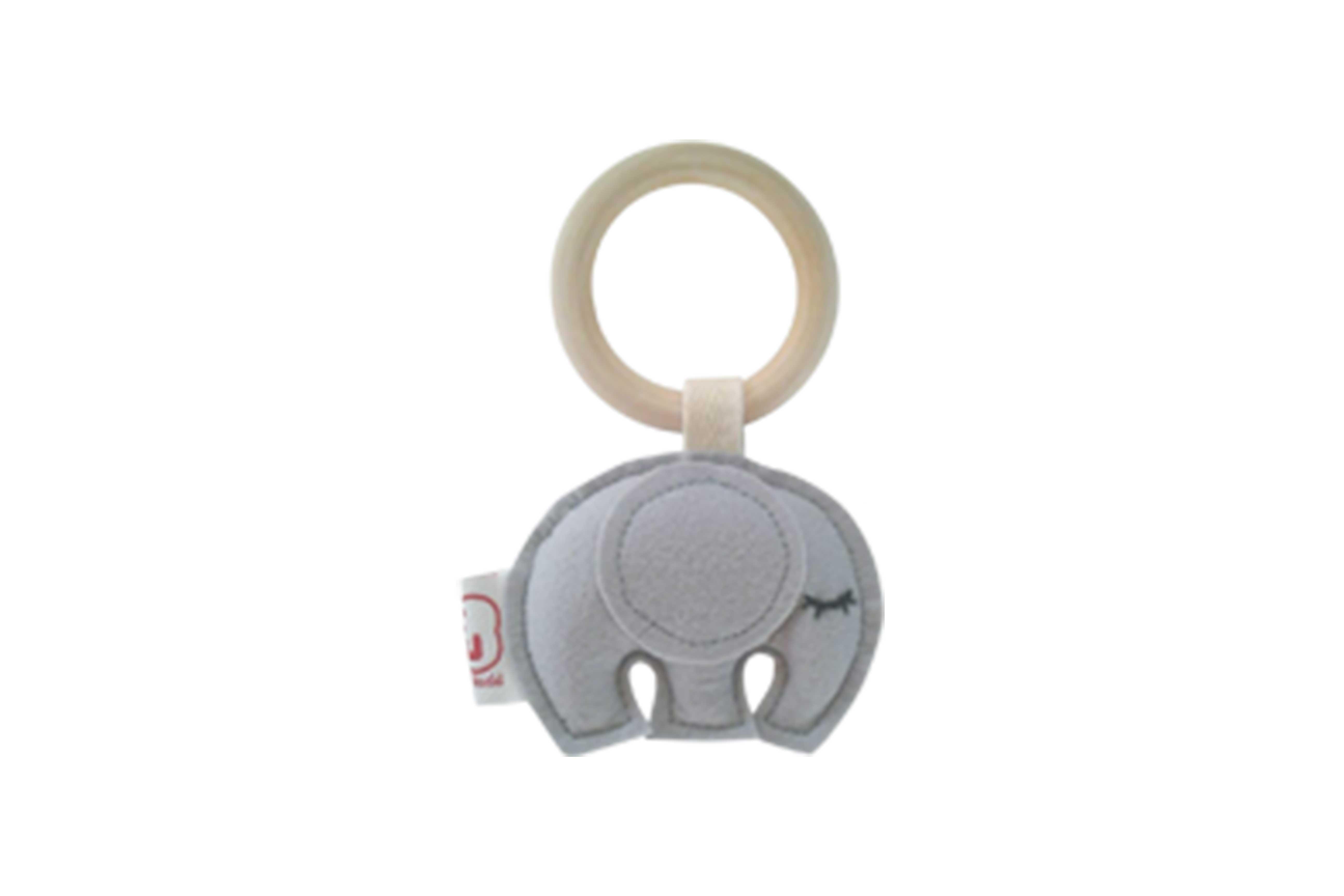 Teething ring elephant