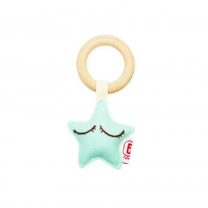Teething ring star