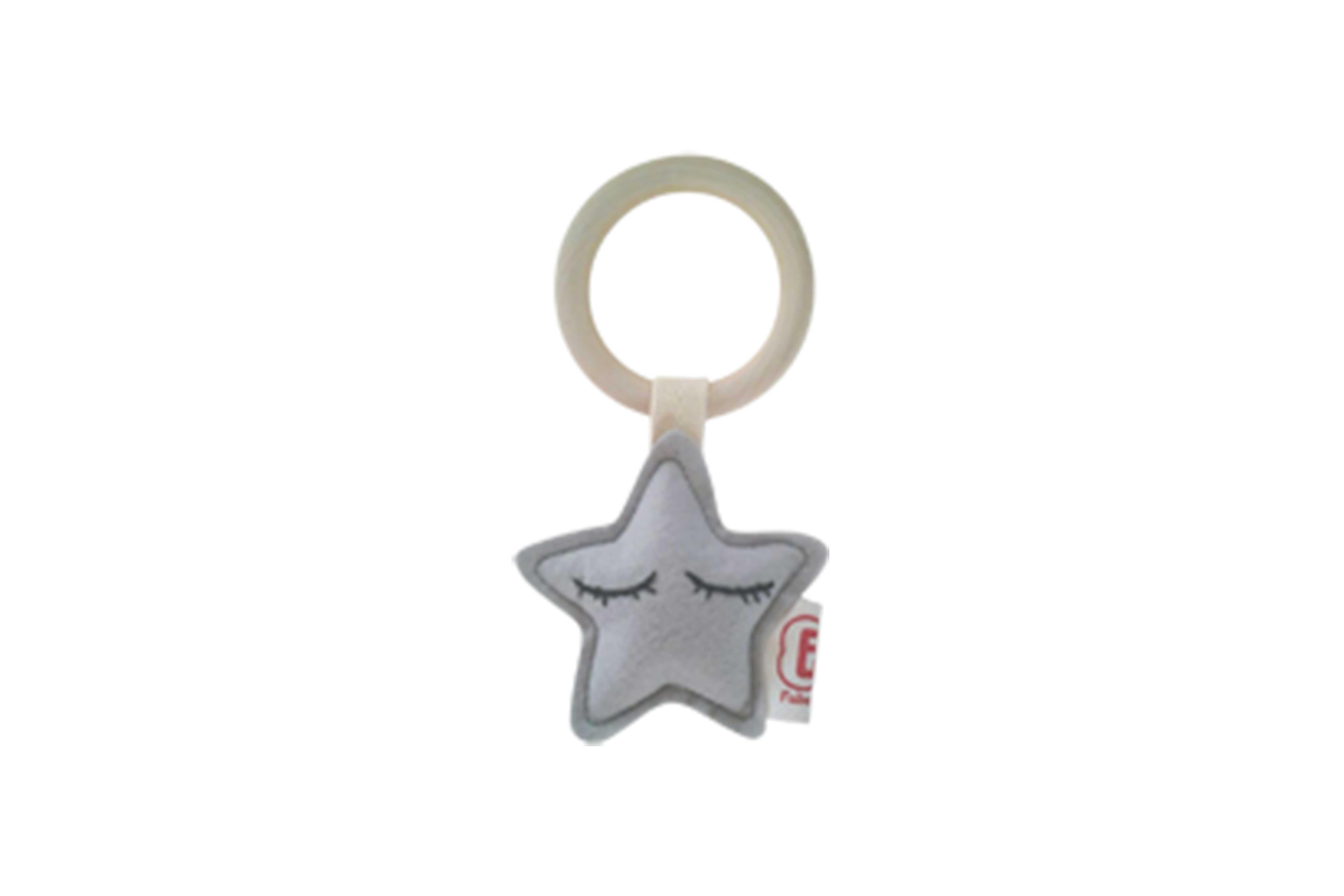 Teething ring star