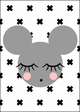 Postcard 'mouse'