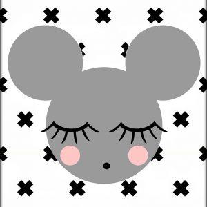 Ansichtkaart 'Mouse'