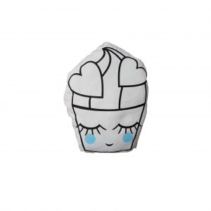 Kussen Cupcake (blauw)