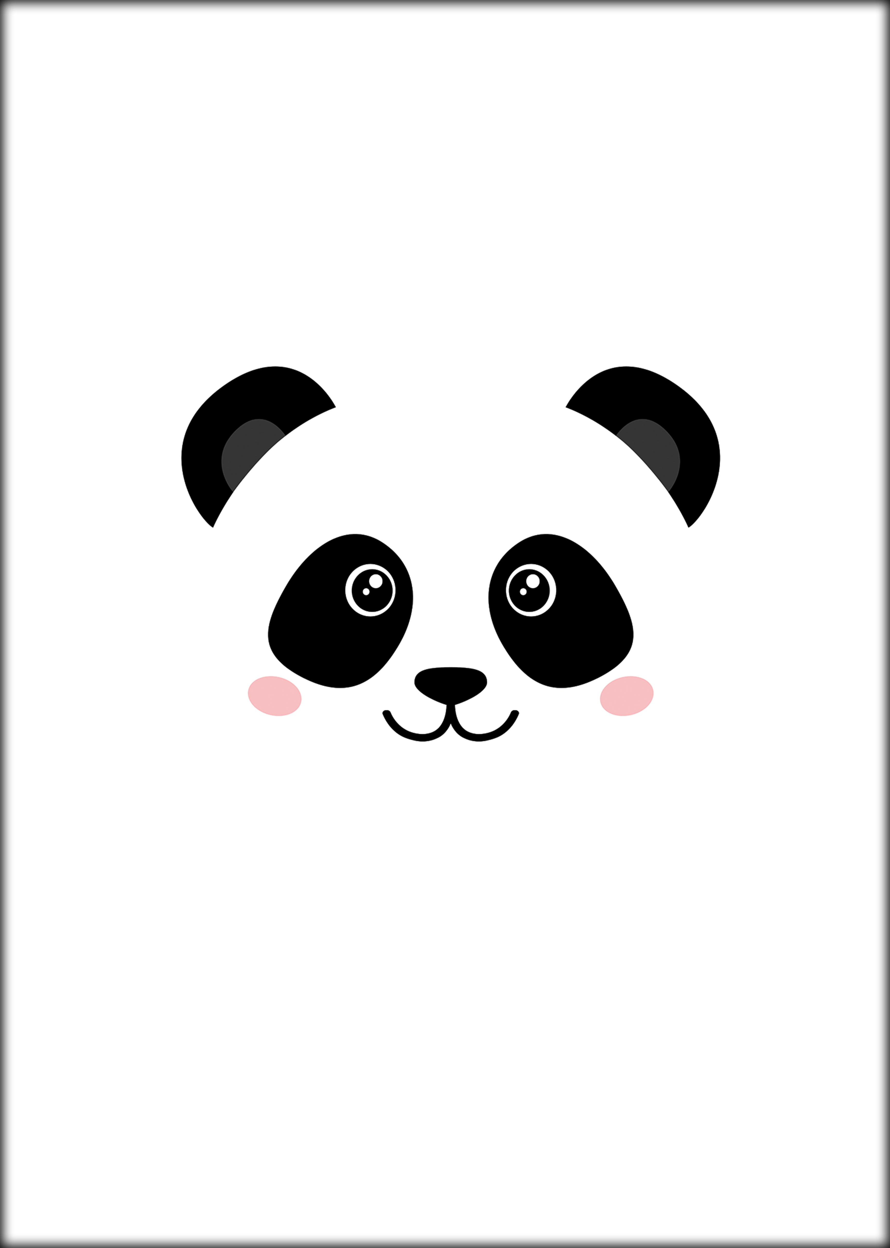 Poster Pandaface