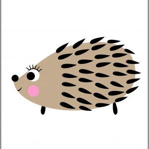 Poster Hedgehog