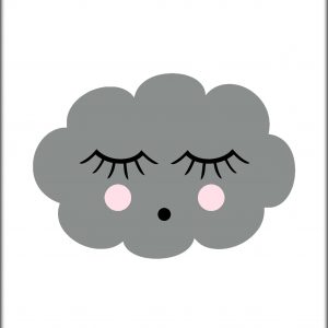 Poster Sleeping Cloud