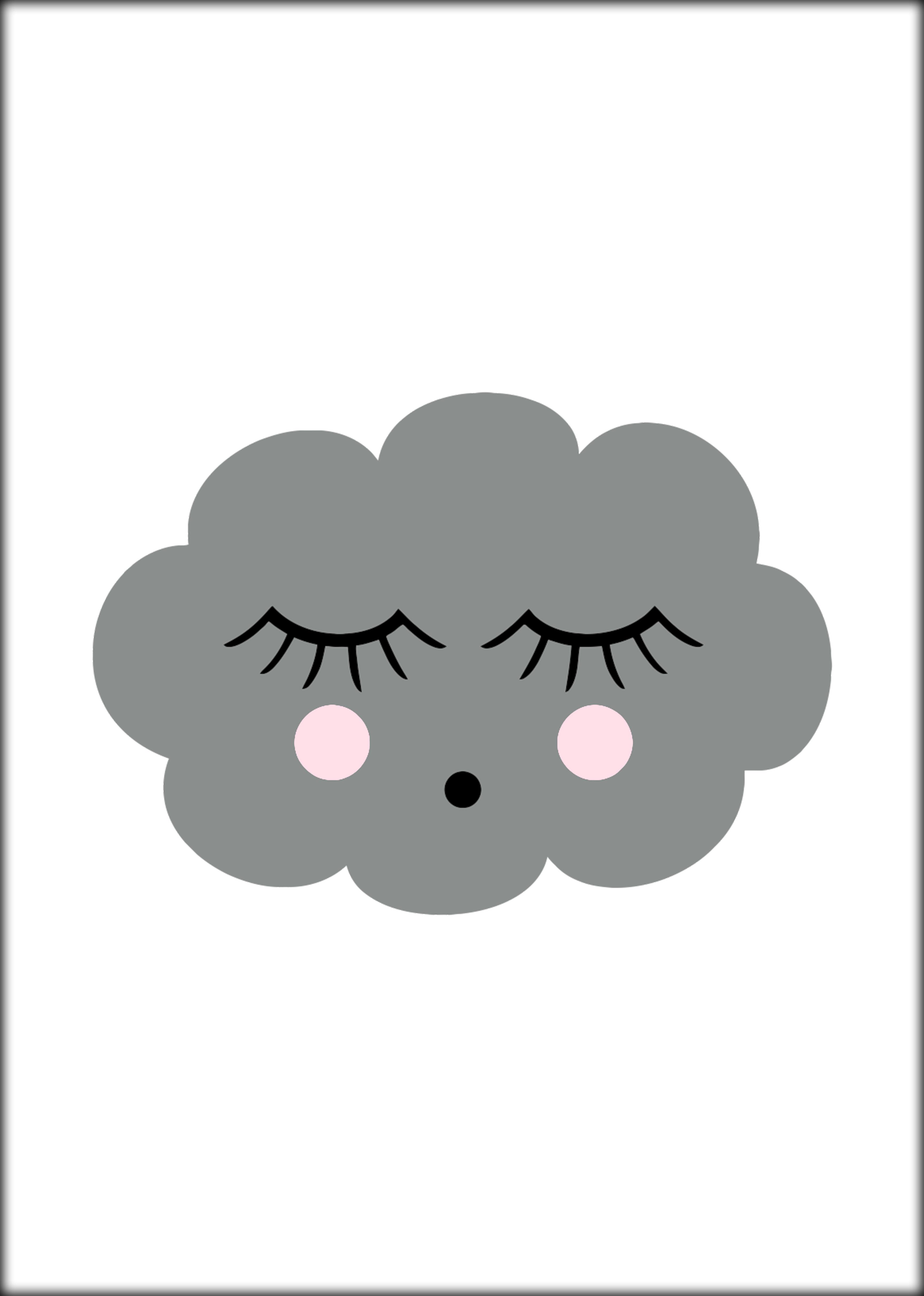 Poster Sleeping Cloud